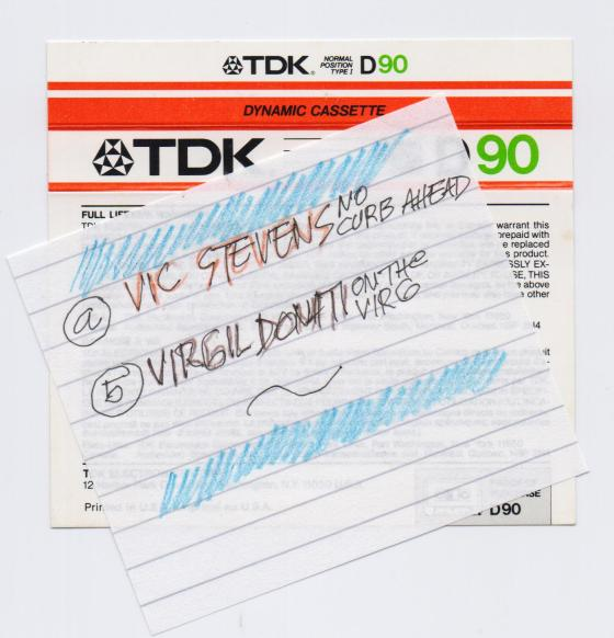 Vic Stevens Virgil Donati omot